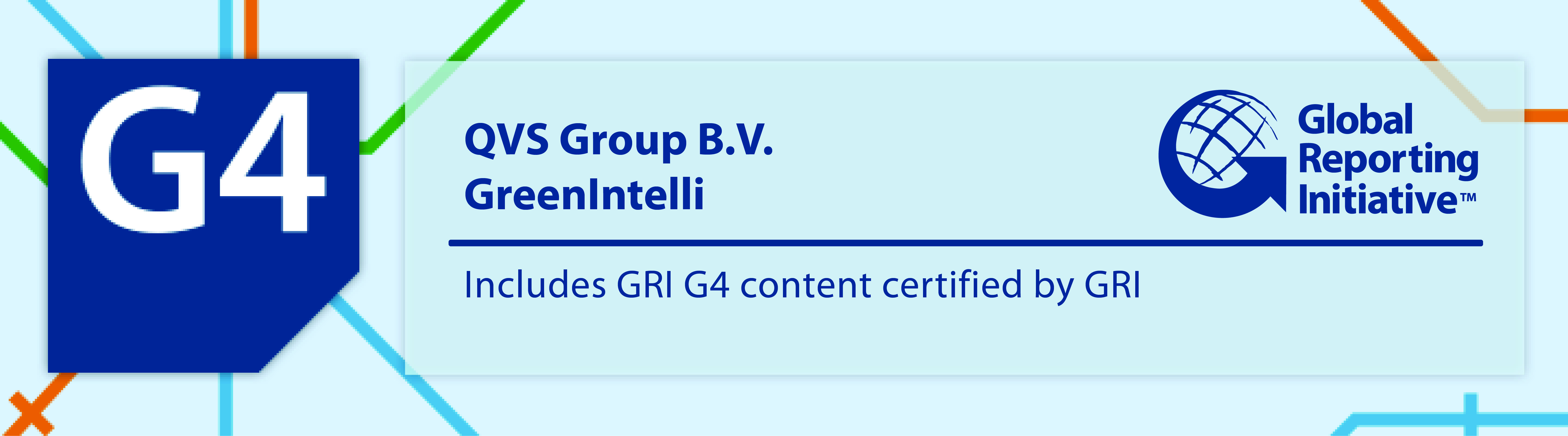 QVS Consulting » GreenIntelli certified for GRI G4 Sustainability ...
